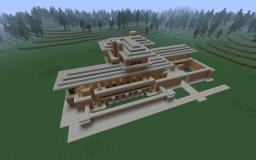 The Robie House - Frank Lloyd Wright Recreation Minecraft Map & Project